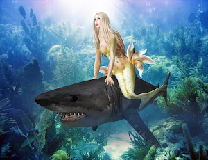 Mermaids love the Left Shark