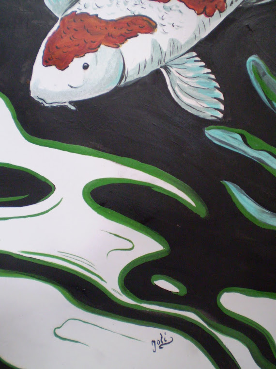 Koi fish2, detail1