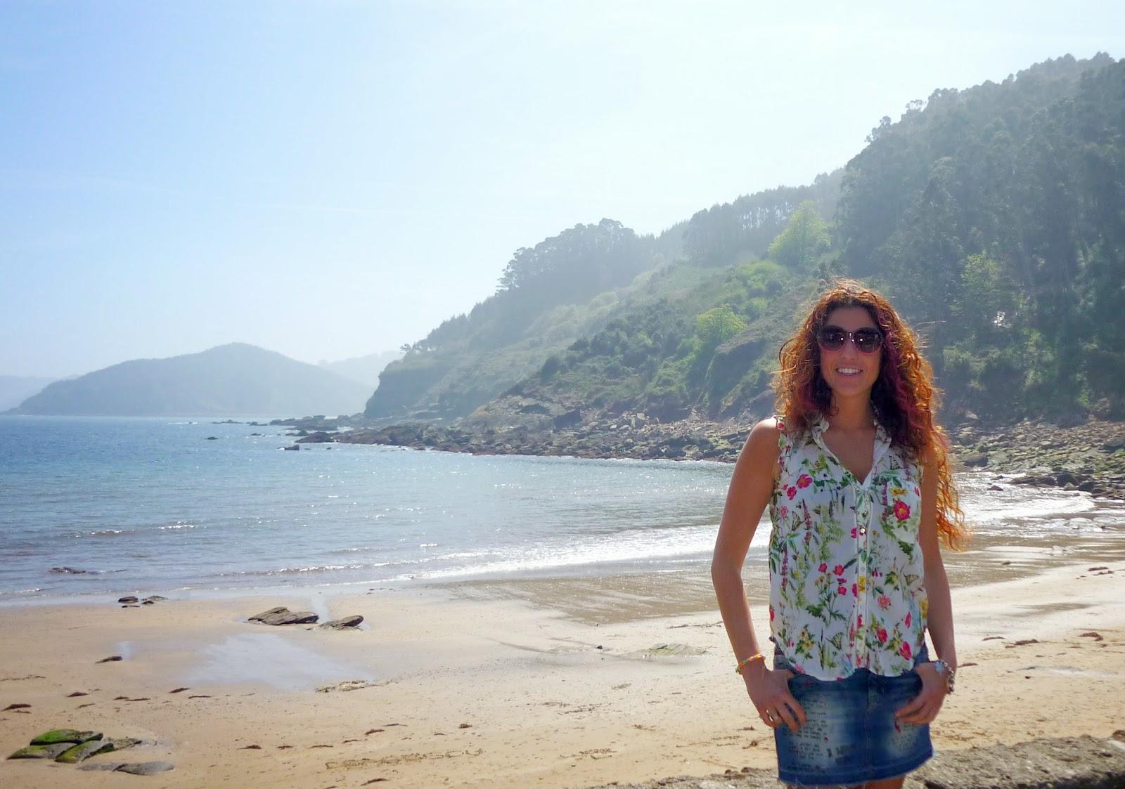 playa asturias tazones