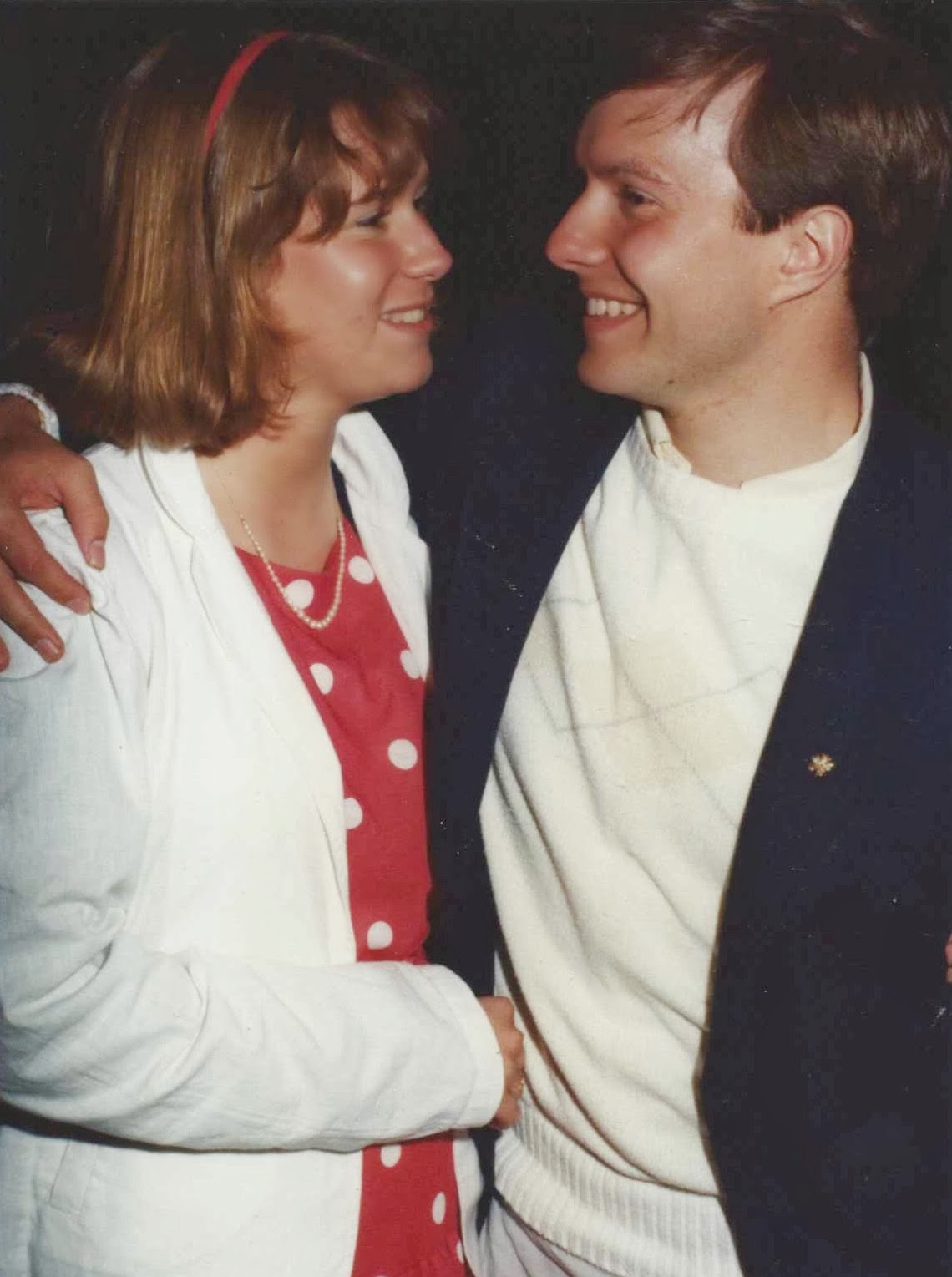 Alpha Phi boat Formal, May 1983, Winey Mom and Winey Hubby