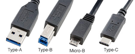 Types of USB