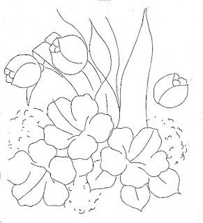 hibiscos e tulipas