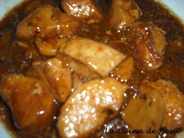 La cuina de rosa pollo con salsa de soja - Como se hace pollo en salsa ...