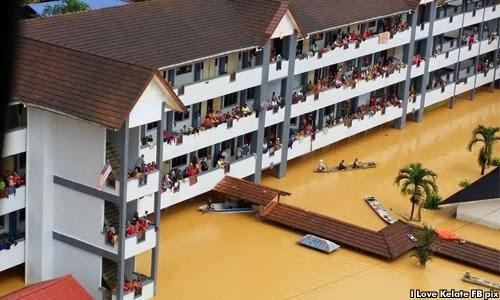 Mangsa banjir di Kelantan