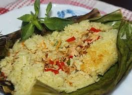 Nasi Bakar Ikan Teri