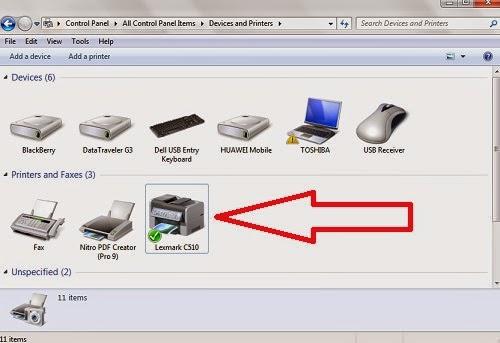 LPJ tidak bisa cetak