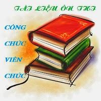 tai lieu on thi cong chuc hanh chinh nha nuoc
