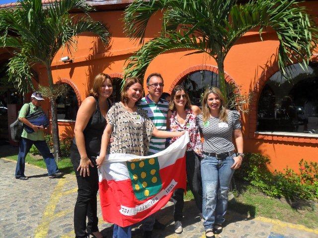 Prefeitura Municiapal de Limoeiro faz festa no Restaurante Sal e Braza em Recife para divulgação das atrações dos festejos Juninas 2011