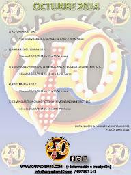 PRÓXIMA CAMINATA ASTRONÓMICA: 25/10/2014