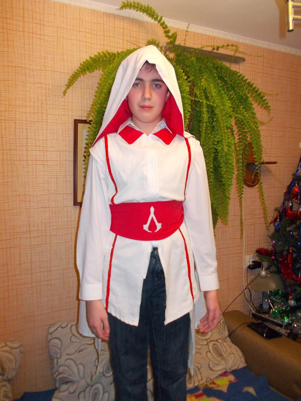 Ассасина костюм своими руками 57