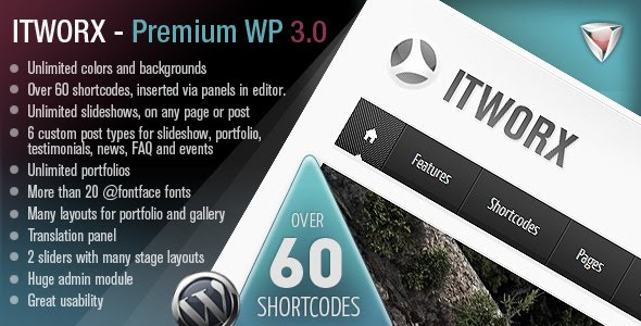Itworx Wordpress Theme Free Download by ThemeForest.