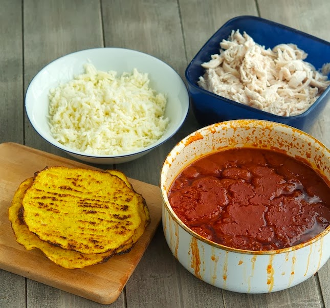 (Primal) Chicken Enchilada Casserole