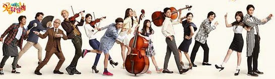 Poster for 내일도 칸타빌레  Naeildo Kantabille, Nae Il's Cantabile, Tomorrow Cantabile featuring the cast of characters