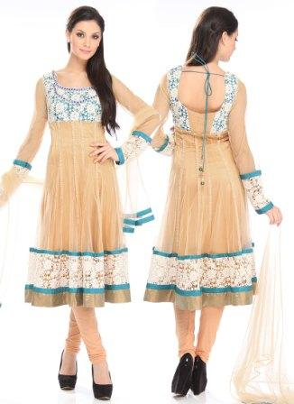 Net-Anarkali-Suit