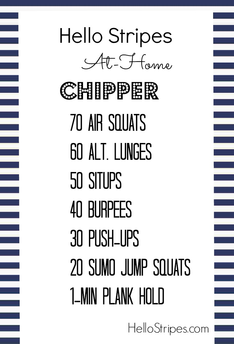 Hello Stripes At Home Workouts