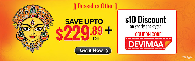 Dussehra Offers for US customers