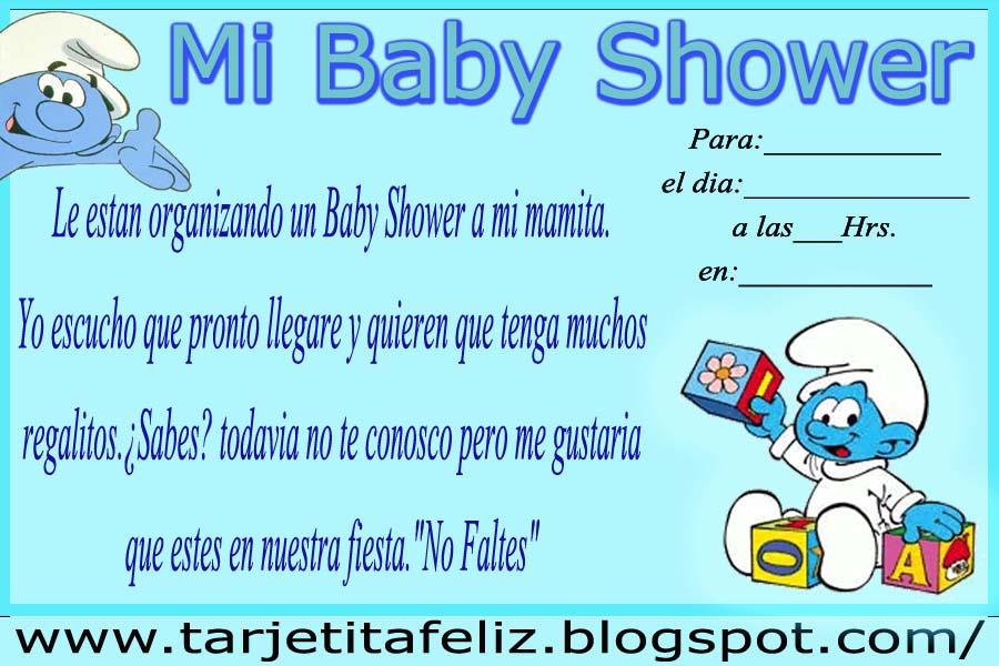 Tarjetas de cumplea  os para imprimir  Invitaci  n Baby Shower de