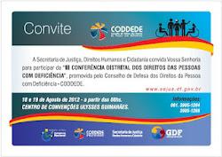 Propostas finais da III Conferência Distrital de Defesa dos Direitos da Pessoa com Deficiência