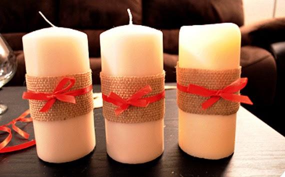 velas para navidad para decorar la casa en navidad