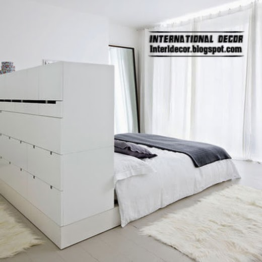 storage headboard, smart storage ideas for bedroom