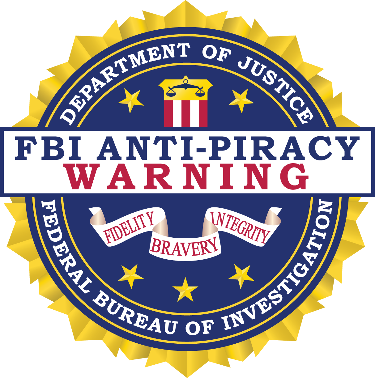 FBI Anti- Piracy Warning