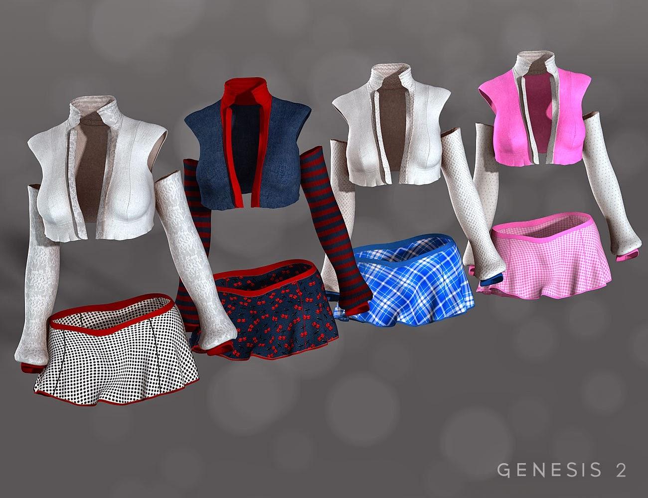 Textures Outfit de crédit supplémentaire