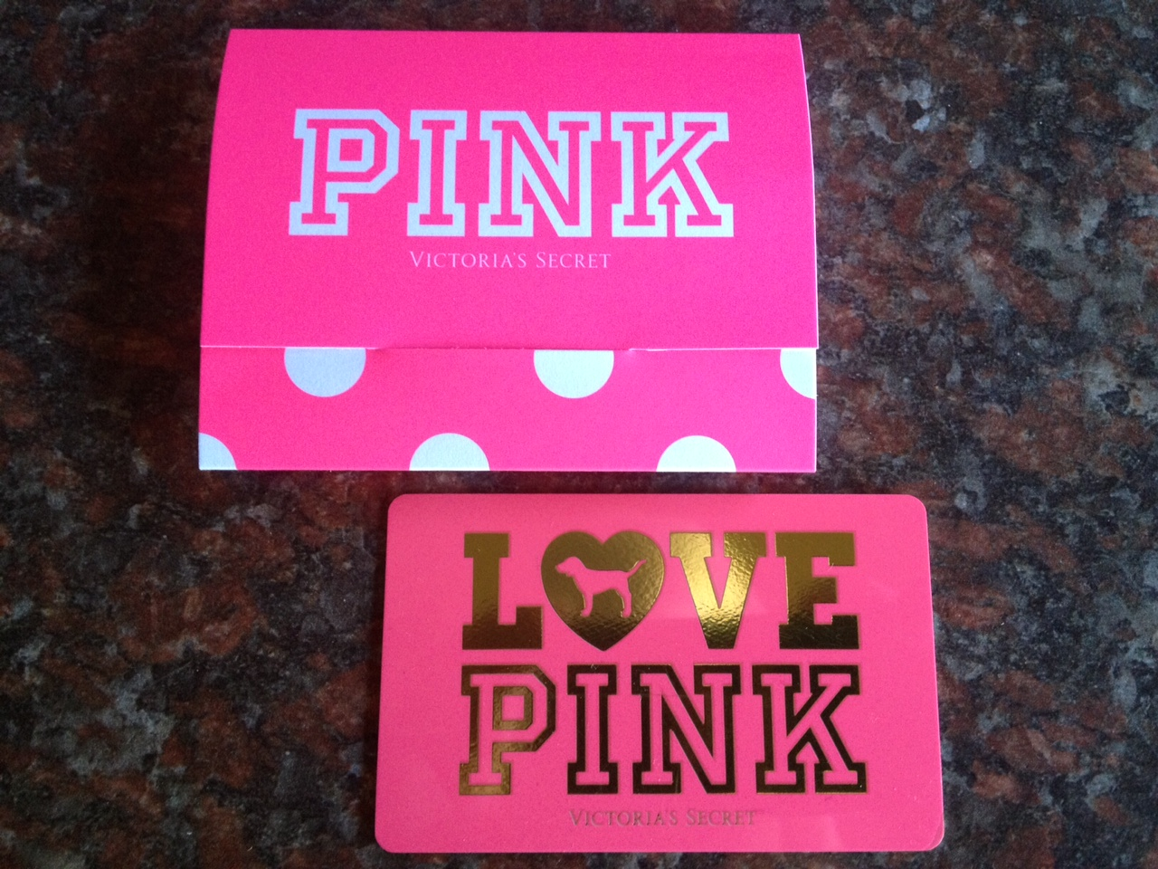 Simplicity: My Victoria's Secret Gift Card