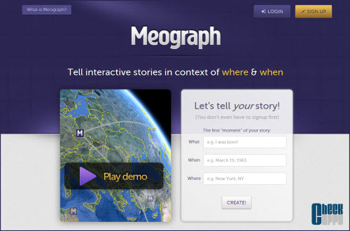 Meograph,storytelling,historias interactivas,Google Maps,Google Earth