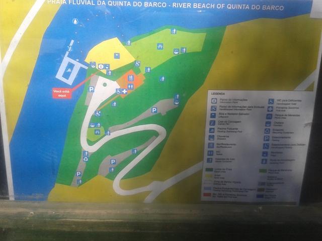 Infra-estruturas Praia Fluvial da Quinta do Barco