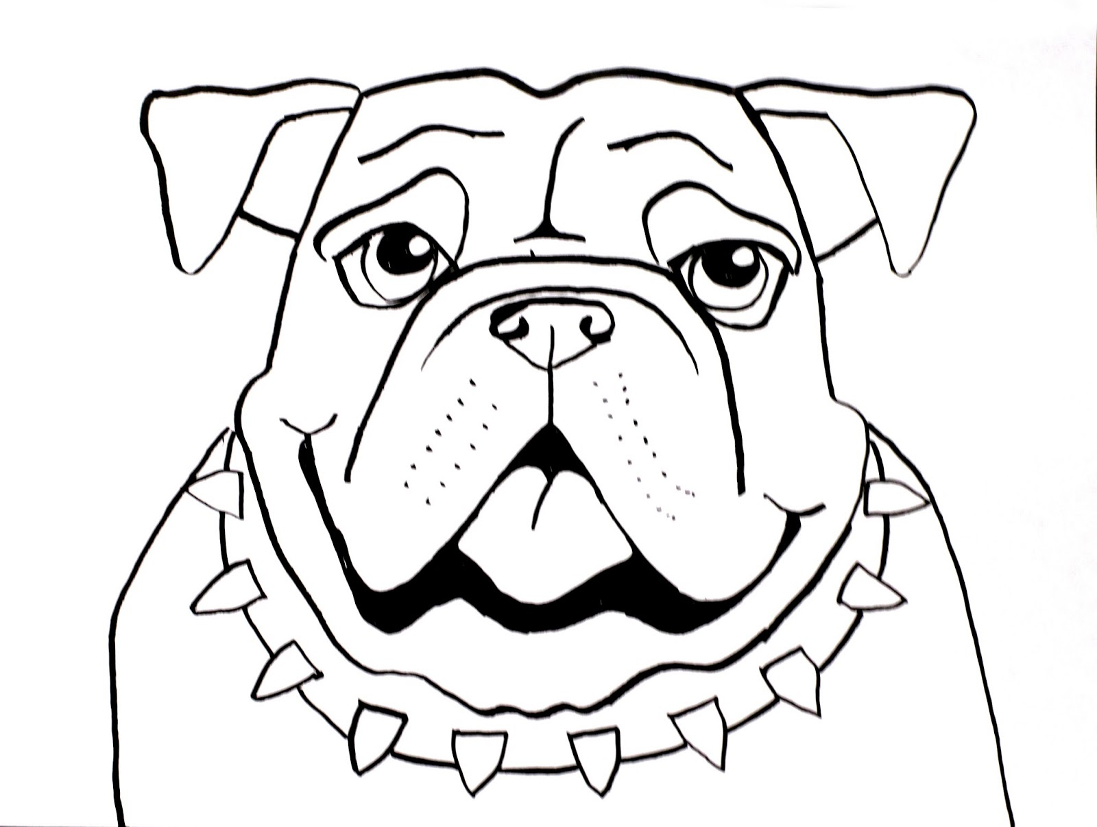 Smart class bull dog draw a long for Easy but cool things to draw