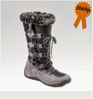 Зимняя обувь, сапожки водонепроницаемые с меховой отделкой Gin Tonic