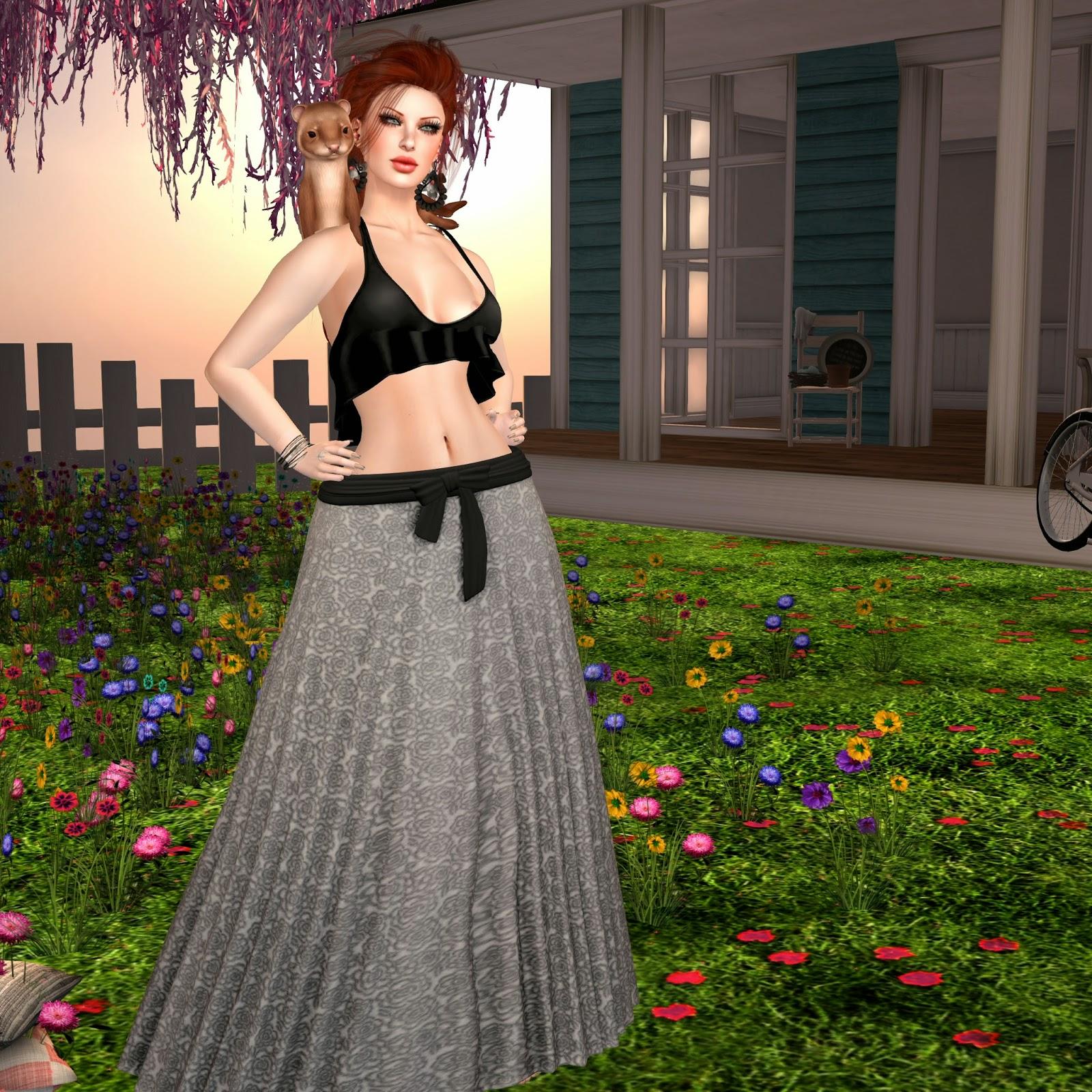 lushish catz jojo skirt