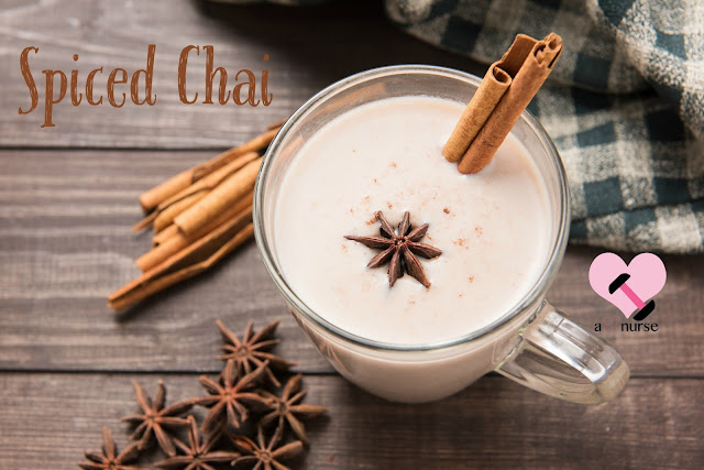 Healthy Fall Drinks - Spiced Chai
