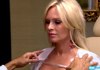 Real Housewives of OC Recap: Restaurants and Frozen Peas