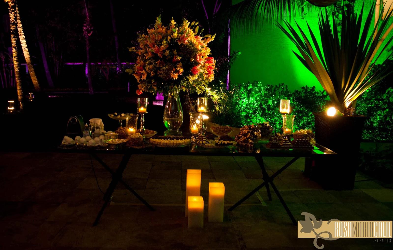 arranjo floral, velas, decoração