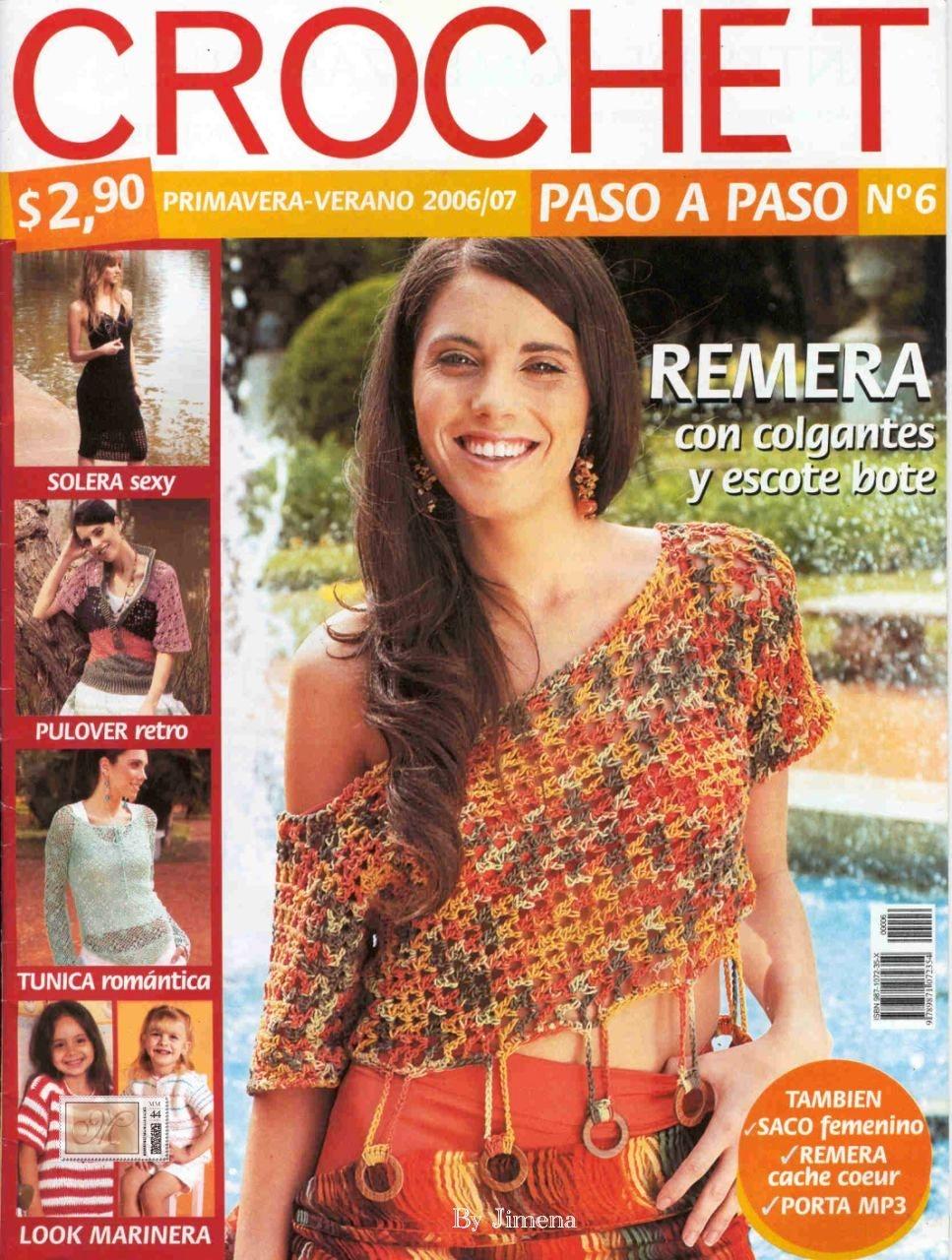 Revista: Crochet Paso a Paso - 6