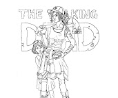 #11 The Walking Dead Coloring Page