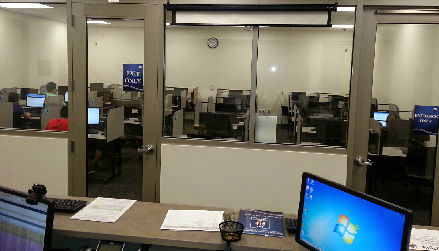 image of testing center at QC