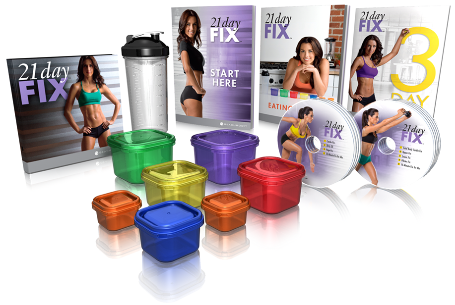 21 DAY FIX is NOW HERE!!