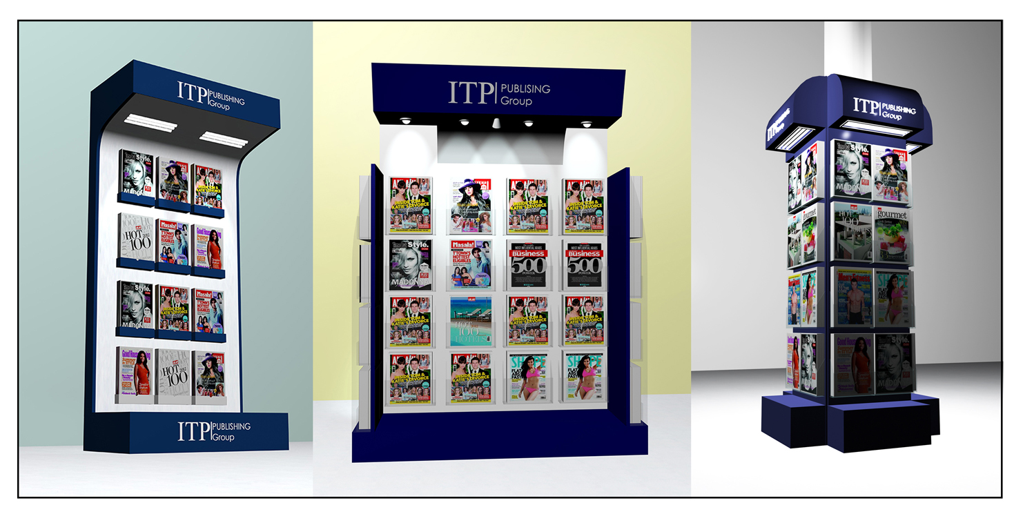 Magazine Stand Designs : Suji august