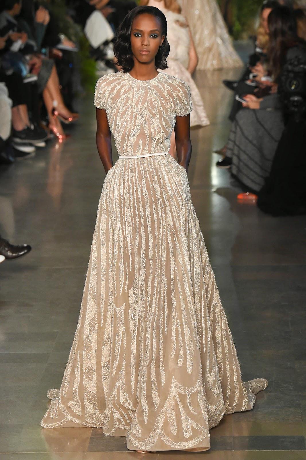 RUNWAY REPORT.....Paris Couture Fashion Week: Elie Saab Haute ...