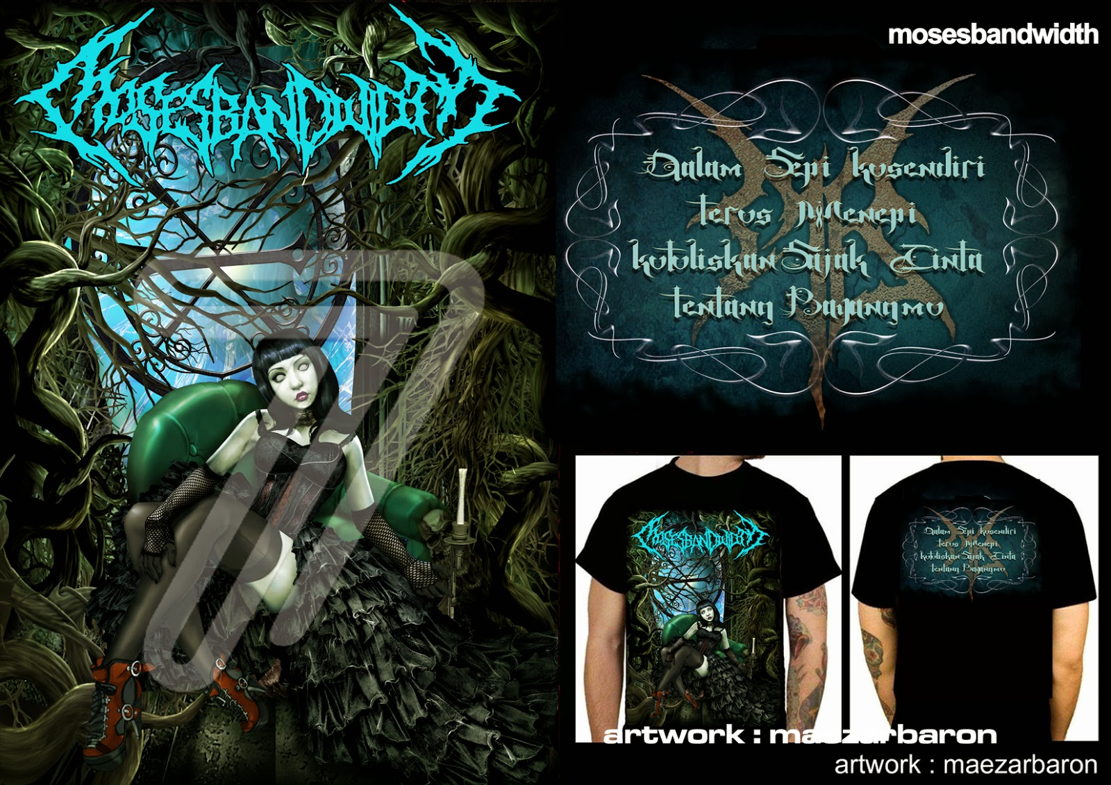SEVENARTWORK DESIGN T-SHIRT
