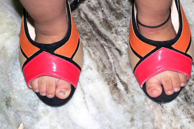 What I Wore | Footin Colour-Block Sandals (Must Buy)