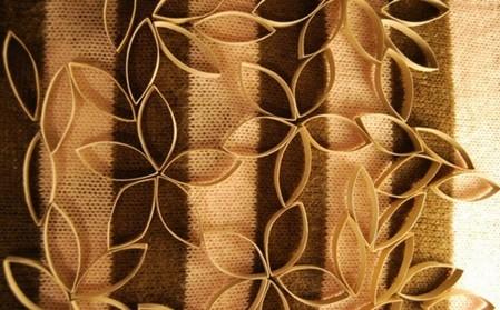 Como crear decoraciones con rollos de cart n portal de for Como hacer decoraciones para el hogar