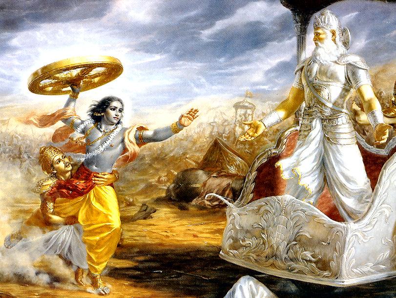 Krishna Intervenes