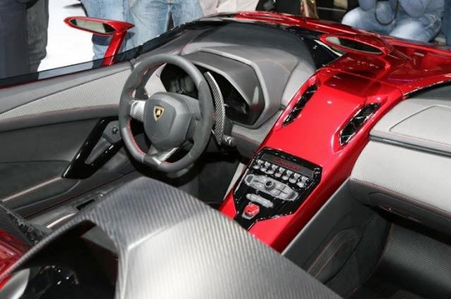 Lamborghini Aventador J Roadster, 2012, Geneva Motor Show, Aventador J