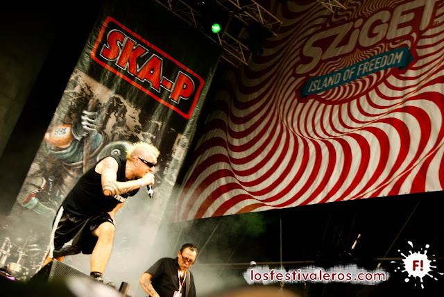 SKA-P en Sziget Festival 2013