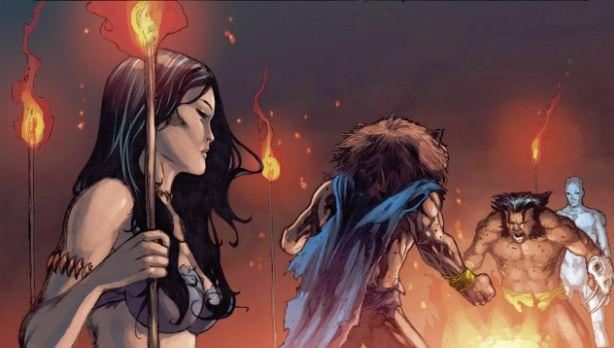 Examen; Lucha sin poderes. X-Men+Regenesis+Battle+Psylocke