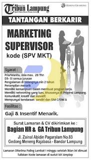 Lowongan Kerja Tribun Lampung Mei 2015
