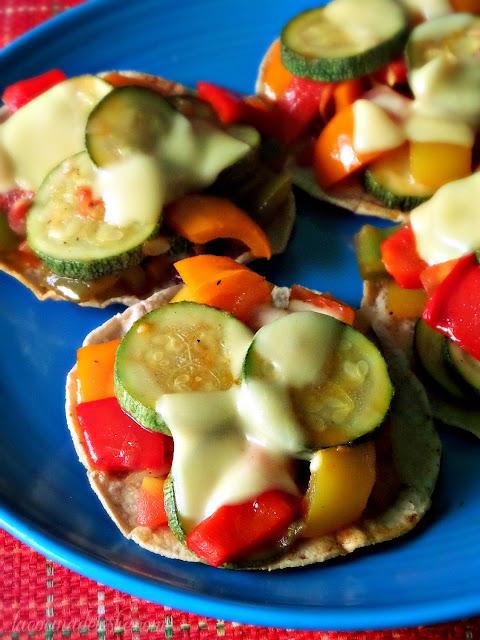 Zucchini (Pisto Manchego) Tostadas - lacocinadeleslie.com